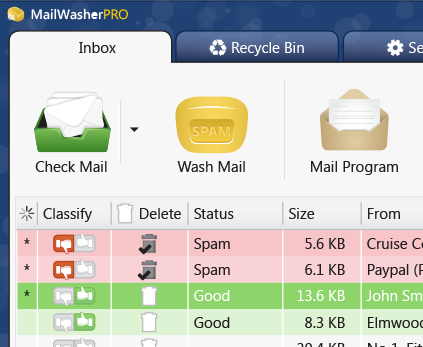 MailWasher Free - The Popular Free Spam Blocker, Used By
